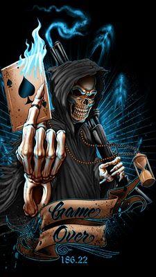 WALLPAPERS gothic skulls death fantasy women erotic animals: SKULL & DEATH