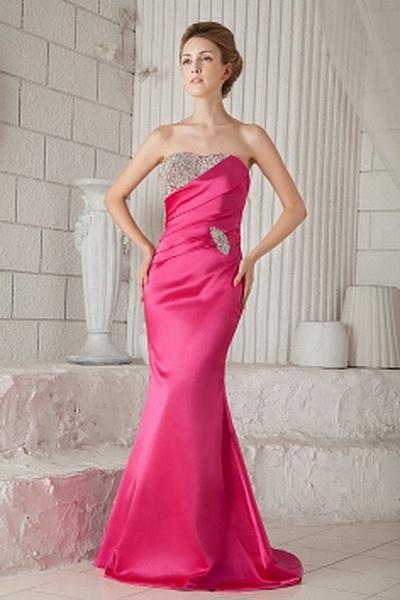 Elegant Liebsten Trompete Meerjungfrau Heimkehr Kleid ba1633 - http://www.brautmode-abendkleid.de/elegant-liebsten-trompete-meerjungfrau-heimkehr-kleid-ba1633.html - Ausschnitt: Sweetheart. Stoff: Satin. Ärmel: Ärmellos. Farbe: Pink. Silhouette: Trompete