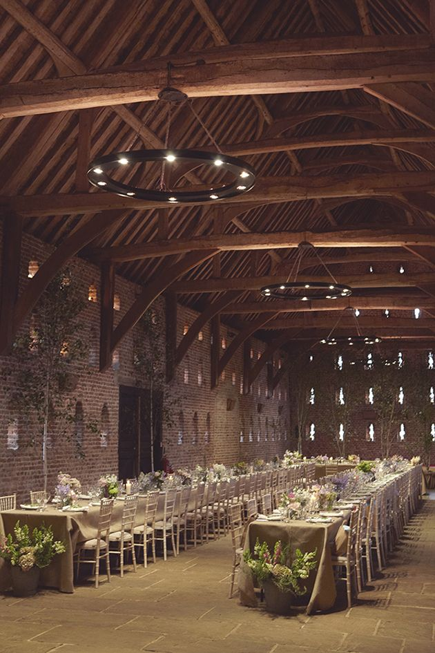 Country Chic DIY Barn Wedding Featuring A Jenny Packham Bride