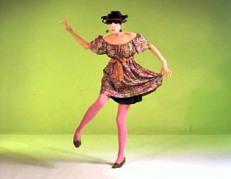 It's great when people, in spite of time,  remain loyal to themselves and their ideals. Peggy Moffitt: The Total Look