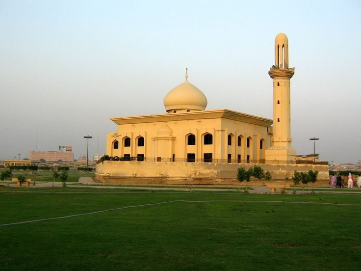 Mezquita en Karachi - Pakistán