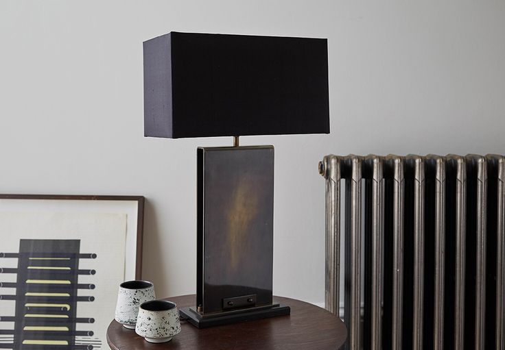 Manhattan industrial table lamp