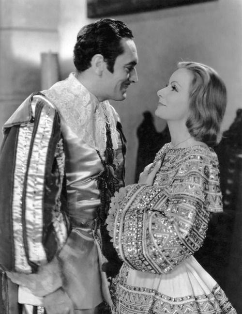 "don56: ""John Gilbert and Greta Garbo in ""Queen Christina"" """