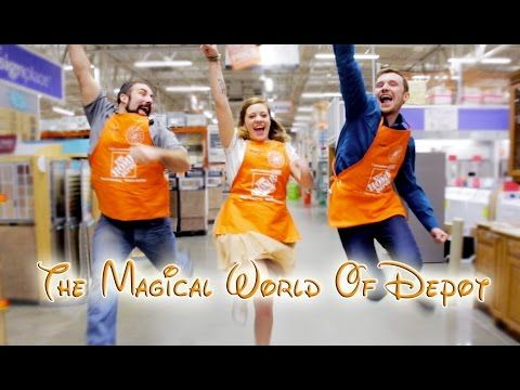 """Owosso Home Depot Employees """"Nailed It"""" with This Hilarious Disney Parody [VIDEO]. Haha this was pretty legit."""