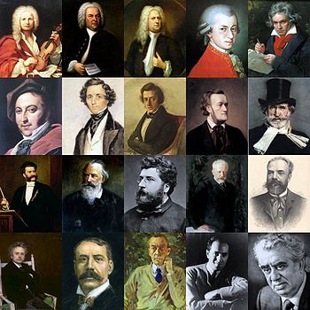 Classical Music composers intrique me.  I have many favorites but Chopin, Handel, Tchaikovsky, Verdi, and Schumann are probably the top picks.
