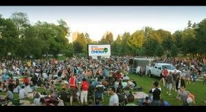 Chevron Summer Cinema Series 2013  In the park after dark Free Outdoor Movies at Stanley Park