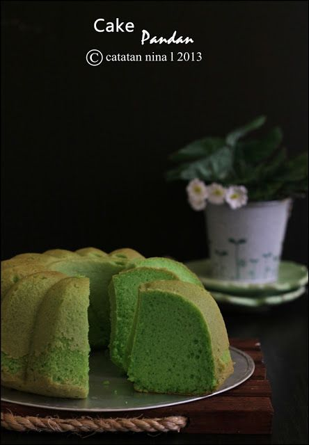 Catatan Nina: CAKE PANDAN