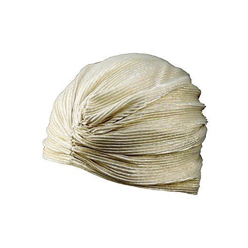 Vintage Look TURBAN Spandex Pleated Gypsy Costume Accesso...