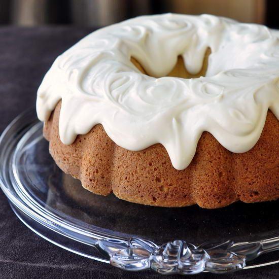 Vanilla Cream Cheese Bundt Cake