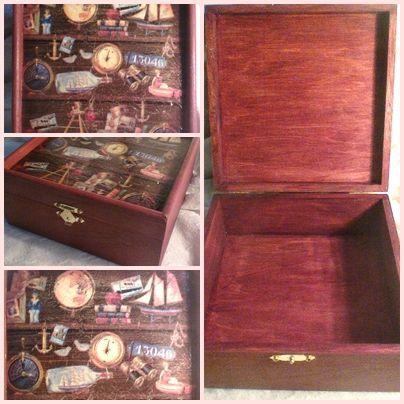 Egyre többen kértek tőlem férfiaknak való darabokat. Nos, ez a doboz valóban pasis! Elegáns ajándék, és határozottan jó megoldás az íróasztali káosz megszüntetésére! 17 x 17 x 7,5 cm 4,700 Ft