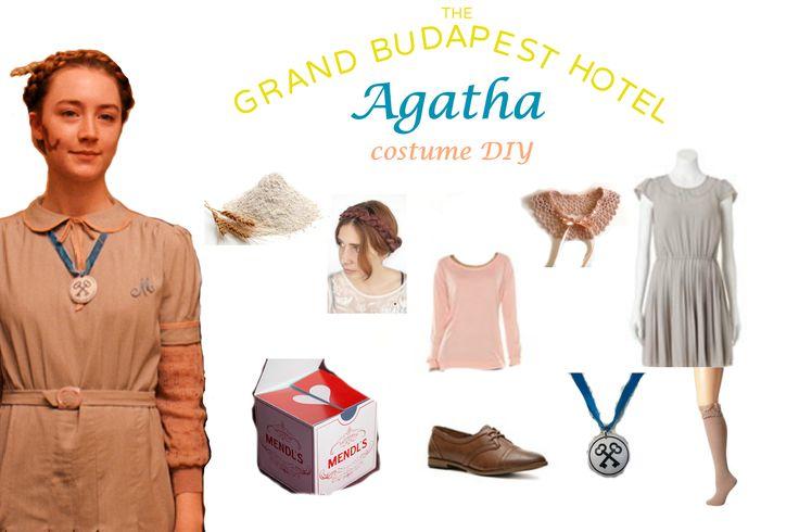Dress like AGATHA FROM THE GRAND BUDAPEST HOTEL COSTUME DIY.  Grand Budapest Hotel, Best Costume Academy Award 2015.