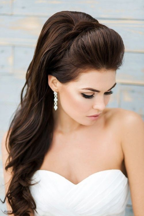 Side Ponytail Updo Hairstyle For Wedding Elstyle Hairstyles Weddings