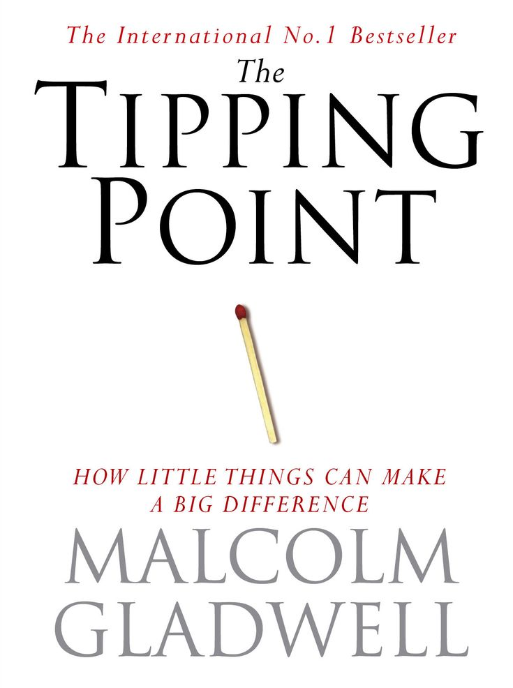 tipping point gladwell - Google zoeken