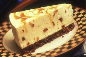 Toffee and Cream Cheesecake