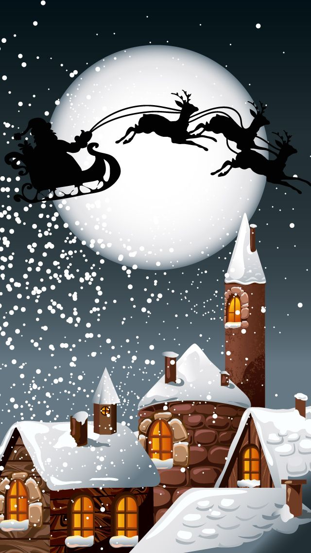 Iphone wallpapers games apps ringtones themes: Merry Christmas and Happy new year 2013 part 2 - iphone 5 640x1136 wallpapers