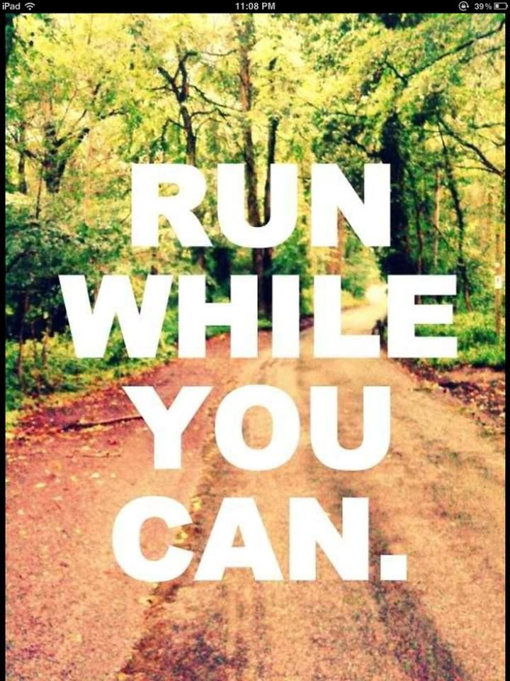 grateful to be able to run!