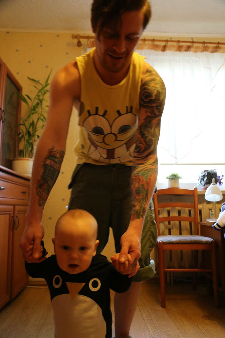 #inkguy  #tattooguy  #kid  #spongebob #child