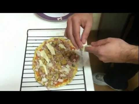 ▶ Recetas Dukan, pizza. Todas las fases. R2 - YouTube
