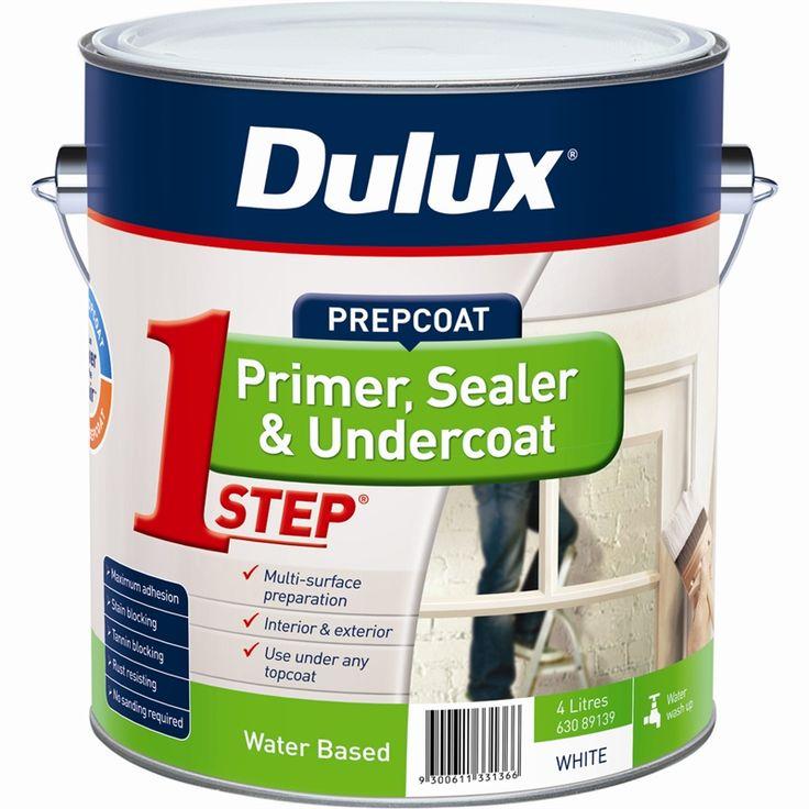 Dulux 4L 1-Step Acrylic Based Primer Sealer Undercoat