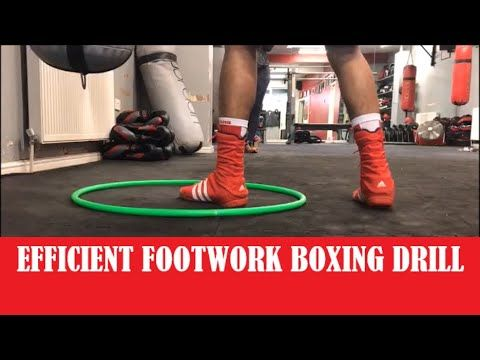 How To Improve Boxing Footwork Efficiency - YouTube