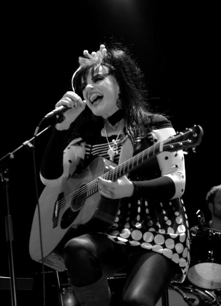 Nina Hagen, at the Cargö. Caen, 6 Nov. 2012. @ JB Quentin.