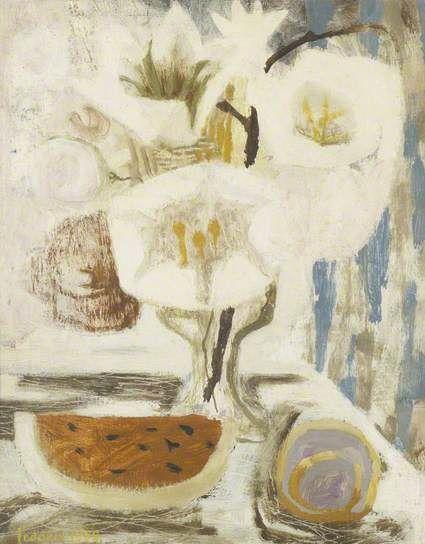 White Still Life. Mary Feddon