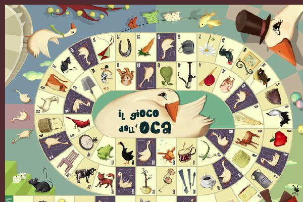 The Game of the Goose has been referenced many times in literature, and in history the Greek kings were said to have sung about playing the game  and then argued over whether one of them had cheated at it! For a game with rather more history behind it than Twister, you need look no further than Gioco del Occa.