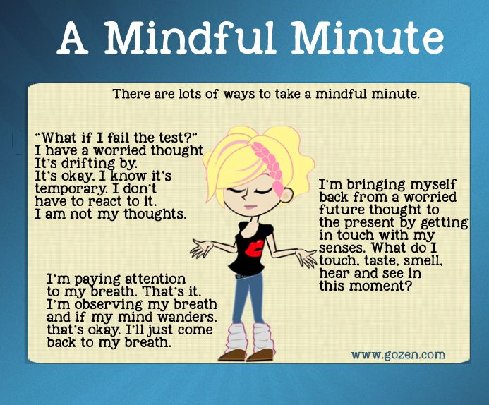 How Mindful Children React Differently to Challenges