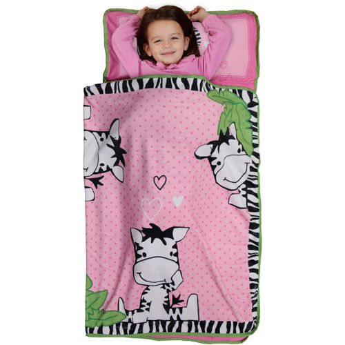 Adorable!  Nap mat for toddlers I Luv Zebra Crib Bedding by Baby Boom - bedtimebaby.com