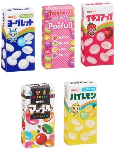 #meiji Petit Mini assort 5 #Candy Pack Dagashi Chocolate #JAPAN http://ebay.to/1rPXAGk