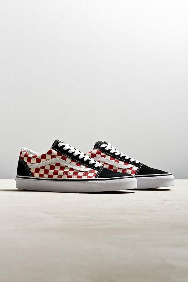 db85de3886 Slide View  1  Vans Old Skool Checkerboard Sneaker