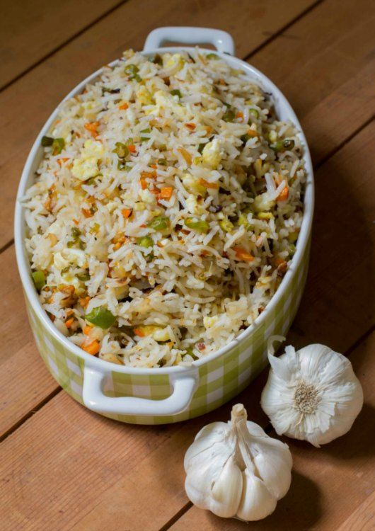 Burnt Garlic Fried Rice Recipe – kannamma cooks