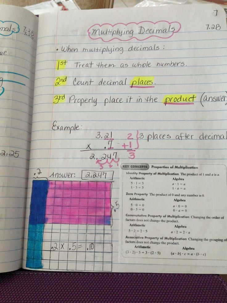 Lesson 4 Multiply Decimals By Decimals Interactive