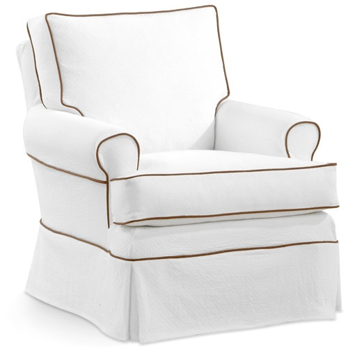 Buy Your Anna Slipcovered Swivel Glider Chair Here. Rock Your Baby To Sleep  In Style And Comfort With This Luxury Glider Chair.