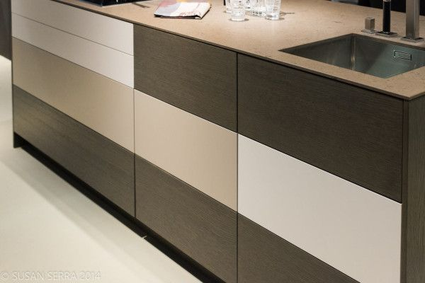 2014 Kitchen Trend Spotting with Susan Serra in interior design  Category - color block drawers