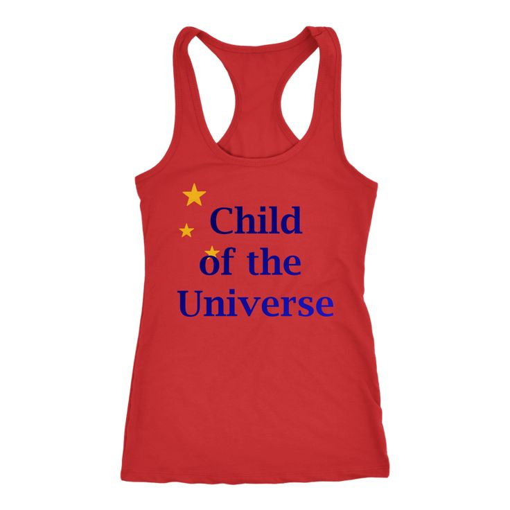 Child of the Universe Women Racerback Tank Top