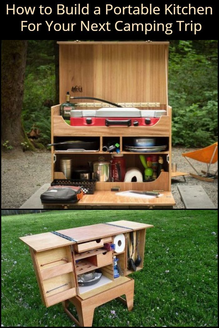 Build A Portable Camp Kitchen For Your Next Picnic Or Camping Trip Outdoor Camping Kitchen Portable Camp Kitchen Camp Kitchen