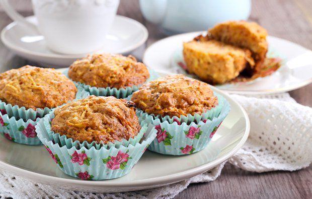 Karotten-Apfel-Muffins
