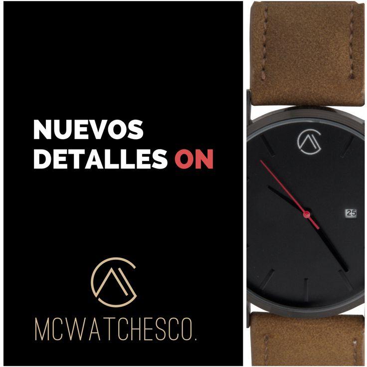 MCWATCHESCO.   Reloj Para Hombre   El Rey Turoc  www.mcwatchesco.com  #MCWATCHESCO  #Relojes