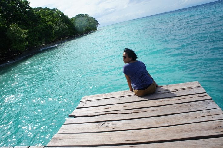 relax at liang beach, maluku #Ambon #Maluku #Moluccas #Indonesia #travel #beach #pantai