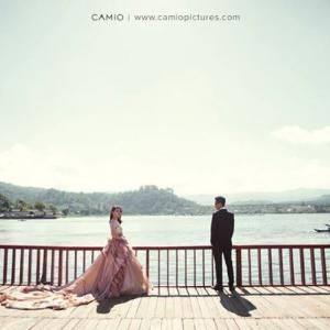 Beautiful prewedding portrait by Camio Pictures