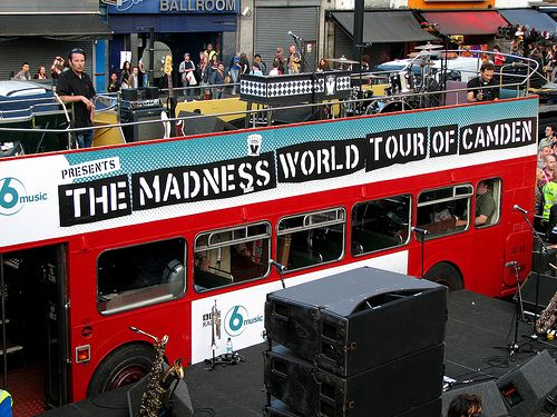 The Camden Crawl takes place the first weekend in May every year and began in 1997, taking place across the majority of Camden's live