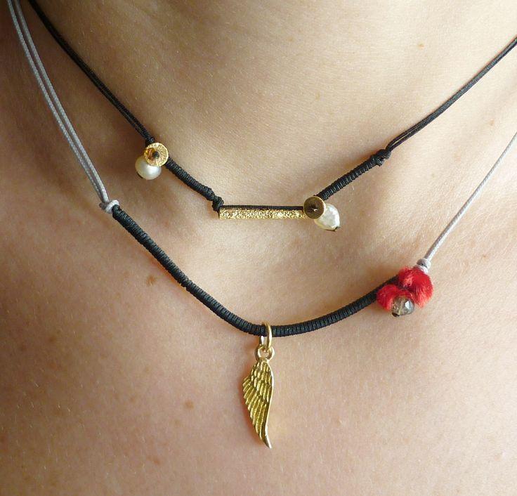 ΚάτιΝα Π.feather necklace 925 gold plated