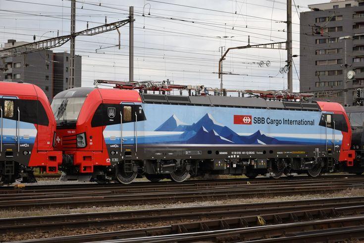 SBB Cargo International BR 193 461 Electric train, Train