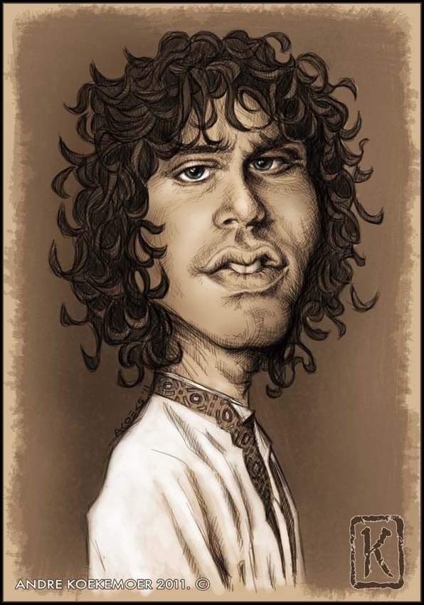 Caricature of Jim