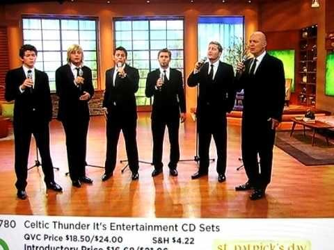 Celtic Thunder Performs on QVC  - Danny Boy & Irelands Call.AVI ..Such good memories ..:)
