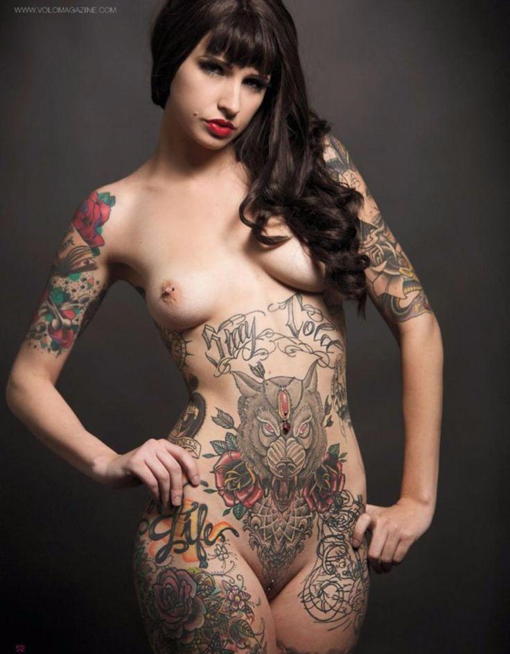 Tattoo Pierced Dildo Mature 36