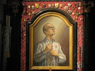 Today with the Saints: August 14: Saint Maximilian Kolbe • Activity: Give up all snacks between meals (adults can also give up a meal) and pray for persecuted Christians who have nothing to eat.