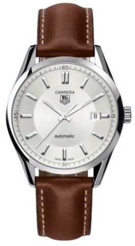 TAG Heuer Men's WV211A-FC6203 Leather Carrera Watch - Listing price: $2,500.00 Now: $1,819.40