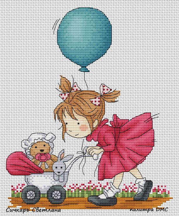 Gallery.ru / Как мама - Детская тематика (платно) - Sichkar